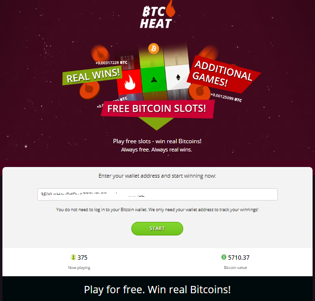 SPIN & WIN FREE BTC, $3 and more daily!